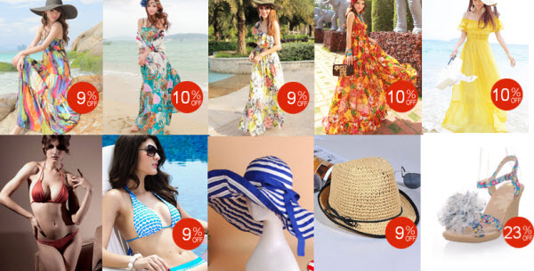 Dinodirect Deals on 2013 Beach Dresses