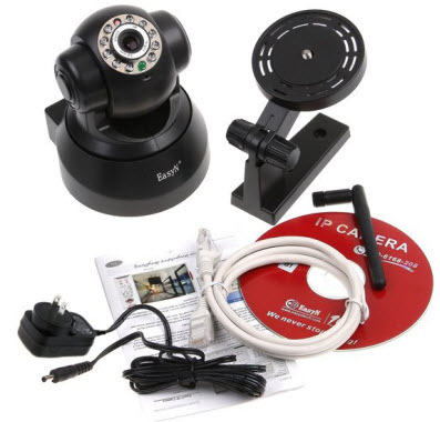 EasyN Wireless Webcam IP Camera