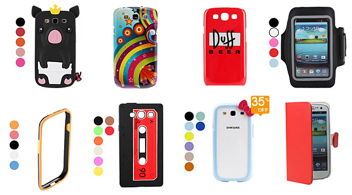 Top rated Samsung Galaxy S3 cases at Minithebox.com