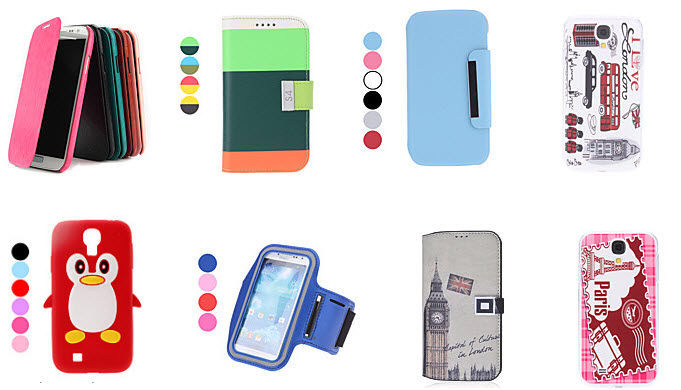 Top rated Samsung Galaxy S4 cases at Minithebox.com