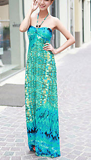 Silk Bohemian Maxi Dress at Lightinthebox