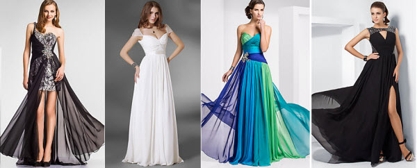 Light in box evening dresses