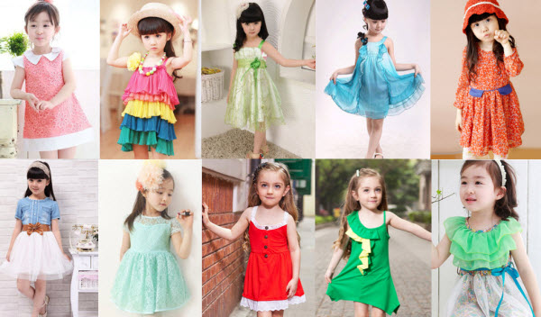 Cute Dresses for Little Girls at Milanoo.com