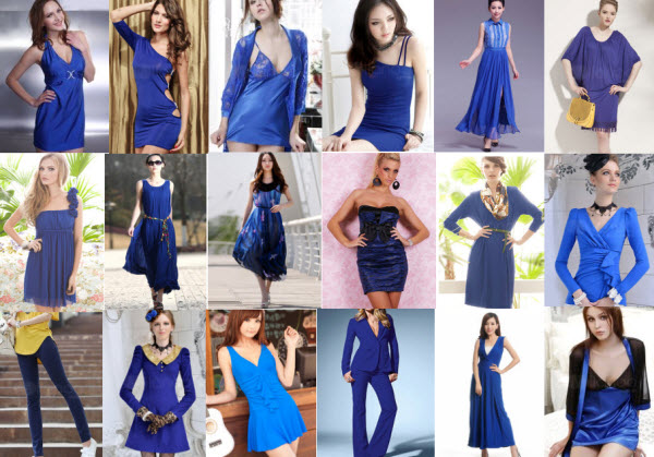 Royal Blue Fashion Deals at Milanoo.com