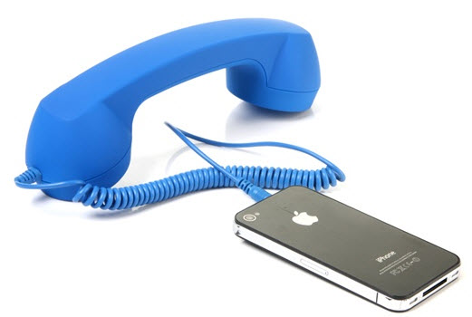 Retro Handset for iPhone