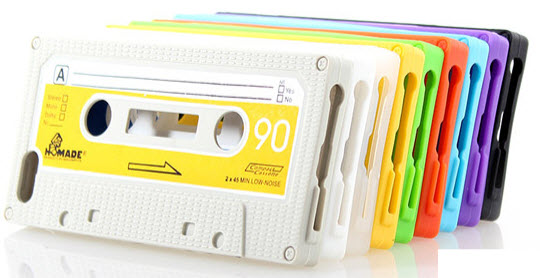 Retro Cassette Tape Silicone Case for iPhone 5