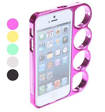 Special Design Knuckle Case with Stand for iPhone 5/5S