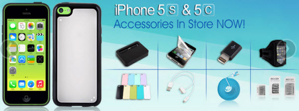 Cheap iPhone 5C or iPhone 5S Accessories