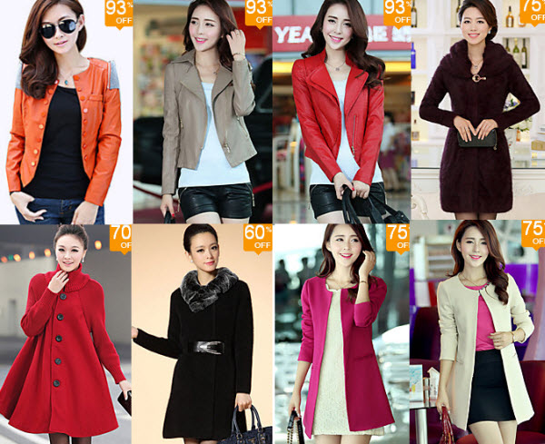 Lightinthebox Top Deals on Women's Coats