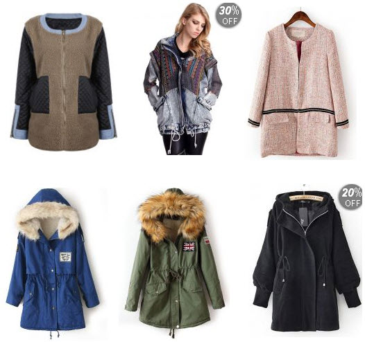 Sheinside Top Deals on Women's Trendy Coats
