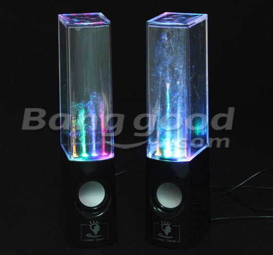 LED Water Dancing Speakers