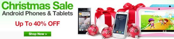 Christmas 2013 Deals on Android Phones and Tablets