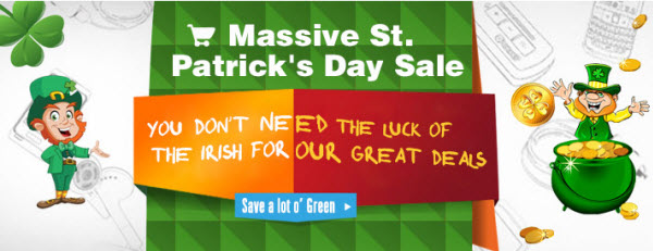 Everbuying 2014 St. Patrick's Day Deals
