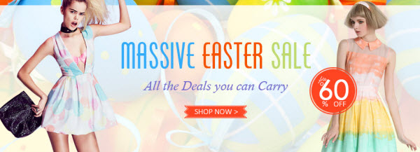 Sammydress 2014 Easter Deals