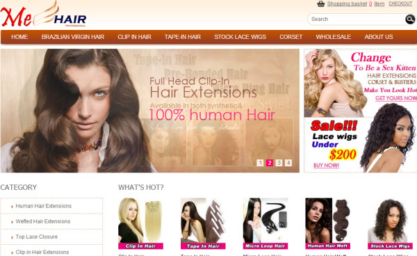 Wholesale Hair Product Store Mehair.com
