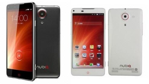 ZTE Nubia Z5S smartphone