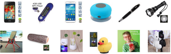 Cool gadgets at low prices