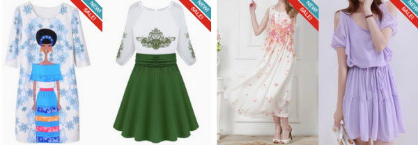 High Street Fashion Dresses at Choies.com