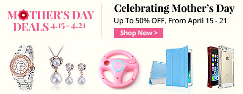 Top 2014 Mother's Day deals at Miniinthebox.com