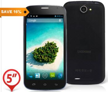Doogee DG500C Android Smartphone at Focalprice