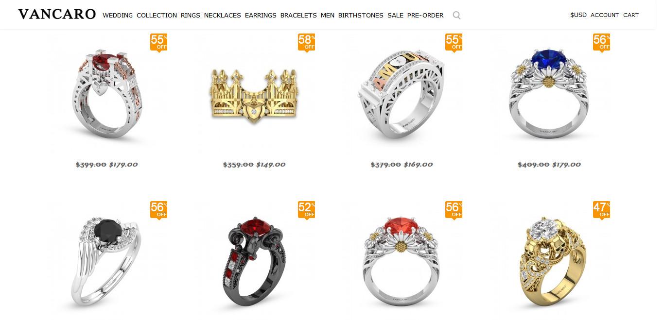Vancaro Engagement Rings