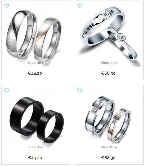 Chinese online shopping sites of cheap couple rings for What are some cheap online shopping sites