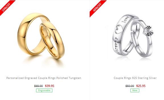 Soufeel couple rings