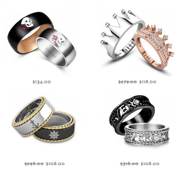 Vancaro couple rings