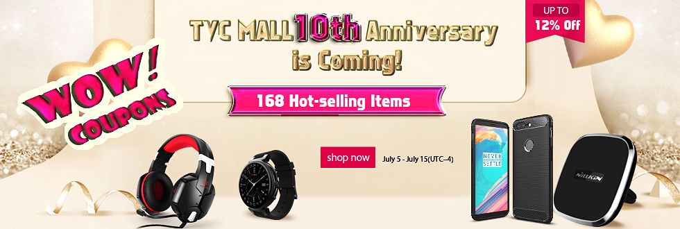 TVC-Mall 10th anniversary promotion